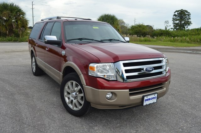 Ford Expedition El >> Pre Owned 2014 Ford Expedition El King Ranch Sport Utility In